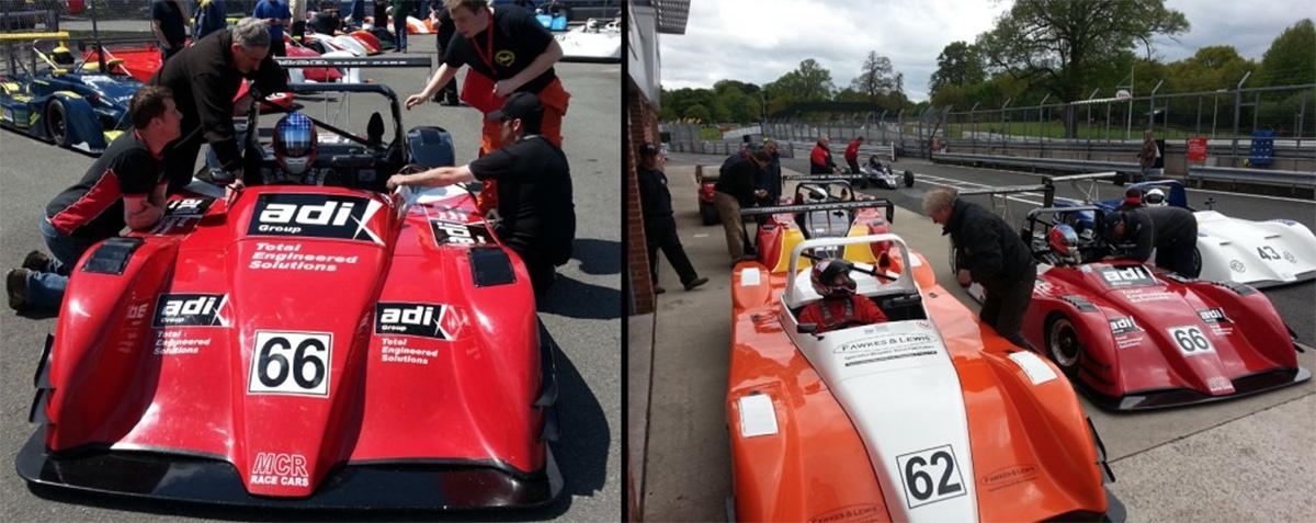 Patrick Sherrington Oulton Park race circuit