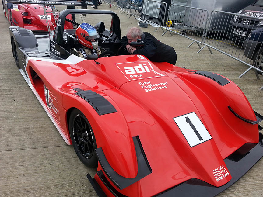MCR Race Cars Silverstone International Sherrington