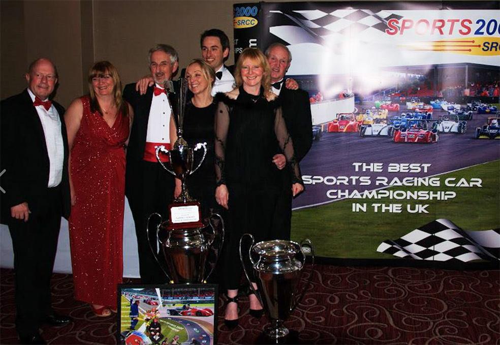 MCR Race Cars ADI Group 2015 championship trophies