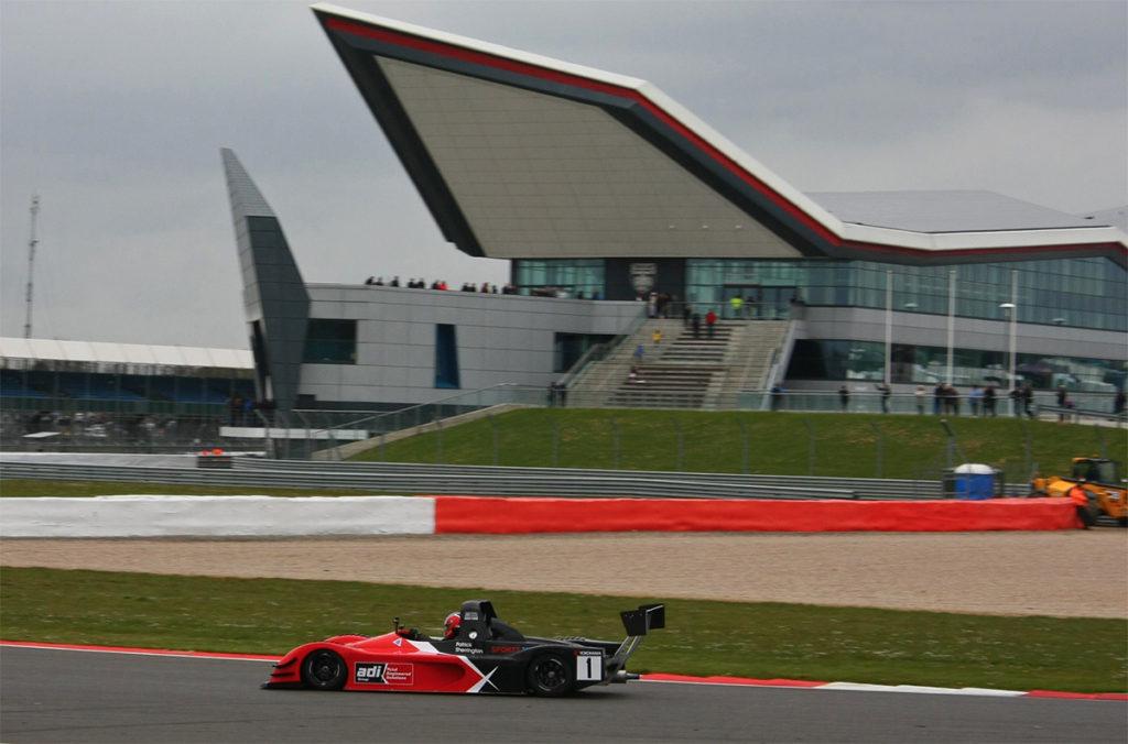 Silverstone International GP race circuit mcr race cars