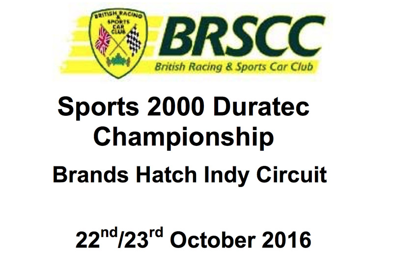 Brands Hatch race results 2016 formula ford festival