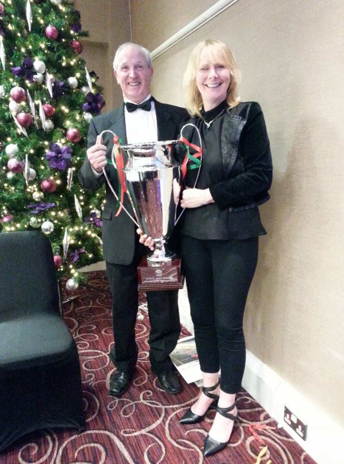 Clive Hayes and Cindy Pearce Manufacturers trophy Sports 2000 Championship 2016