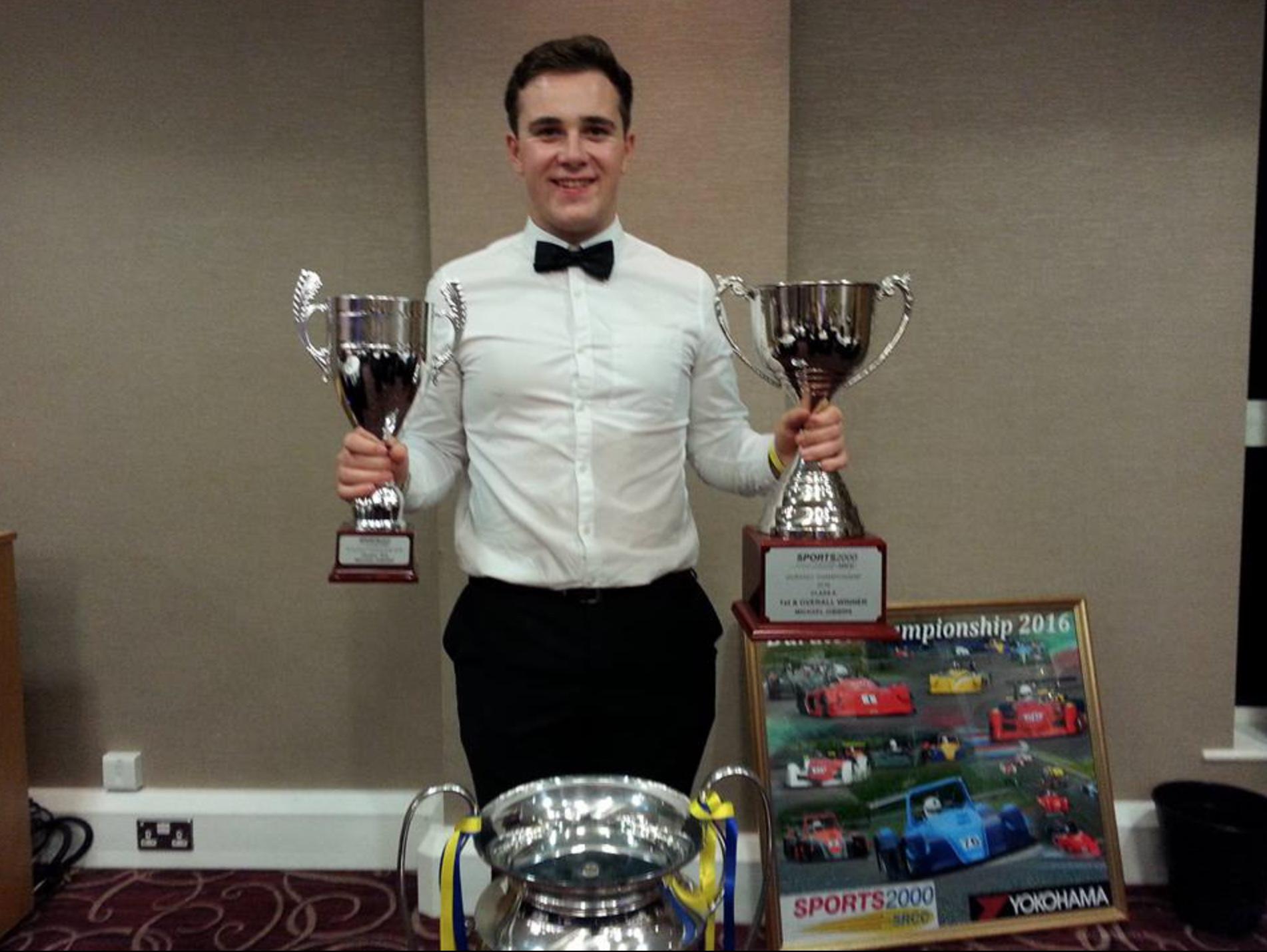 Michael Gibbins 1st Overall Sports 2000 Duratec Championship 2016