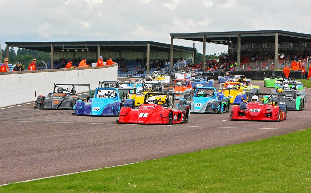 Thruxton race circuit MCR Race Cars for sale