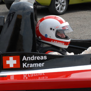 Andreas Kramer MCR Race Car driver Dijon race circuit