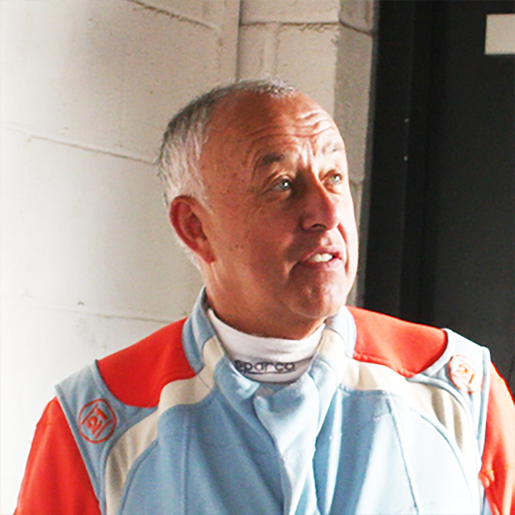 Geoff Tremblett MCR Racing Car driver